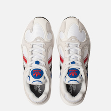 Кроссовки adidas Originals Yung-1 Crystal White/Silver Metallic/Core Black фото- 1