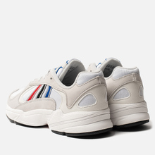 Кроссовки adidas Originals Yung-1 Crystal White/Silver Metallic/Core Black фото- 2