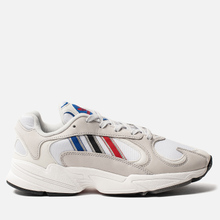 Кроссовки adidas Originals Yung-1 Crystal White/Silver Metallic/Core Black фото- 3