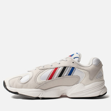 Кроссовки adidas Originals Yung-1 Crystal White/Silver Metallic/Core Black фото- 5