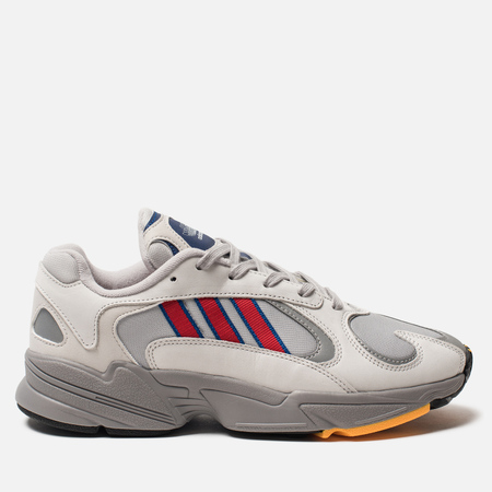 Кроссовки adidas Originals Yung-1 Grey Two/Collegiate Royal/Scarlet