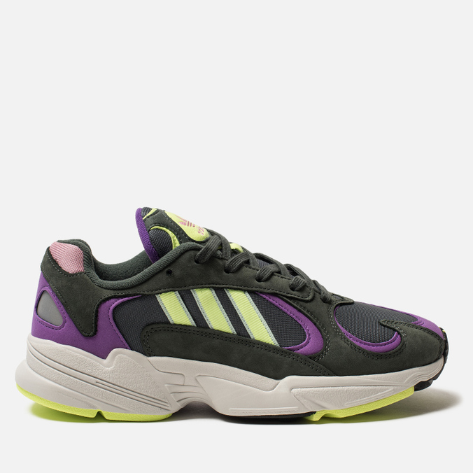 Кроссовки adidas Originals Yung-1 Legend Ivy/Hi-Res Yellow/Act Purple