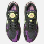 Кроссовки adidas Originals Yung-1 Legend Ivy/Hi-Res Yellow/Act Purple фото- 5