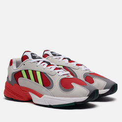 Кроссовки adidas Originals Yung-1 White/Signal Green/Solar Red