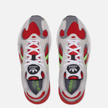 Кроссовки adidas Originals Yung-1 White/Signal Green/Solar Red фото- 1