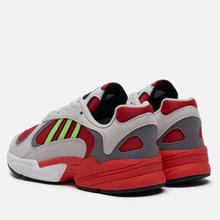 Кроссовки adidas Originals Yung-1 White/Signal Green/Solar Red фото- 2