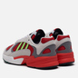 Кроссовки adidas Originals Yung-1 White/Signal Green/Solar Red фото - 2