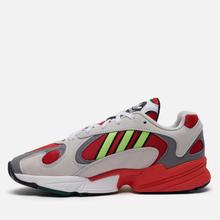 Кроссовки adidas Originals Yung-1 White/Signal Green/Solar Red фото- 5