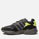 Кроссовки adidas Originals Yung-96 Carbon/Grey/Solar Yellow фото- 1