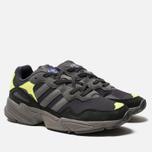 Кроссовки adidas Originals Yung-96 Carbon/Grey/Solar Yellow фото- 2
