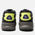 Кроссовки adidas Originals Yung-96 Carbon/Grey/Solar Yellow фото- 3
