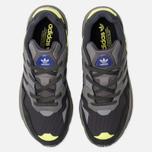 Кроссовки adidas Originals Yung-96 Carbon/Grey/Solar Yellow фото- 5