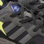 Кроссовки adidas Originals Yung-96 Carbon/Grey/Solar Yellow фото- 6