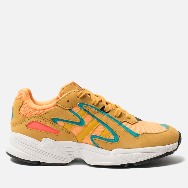 Кроссовки adidas Originals Yung-96 Chasm Flash Orange/Active Gold/Hi-Res Aqua