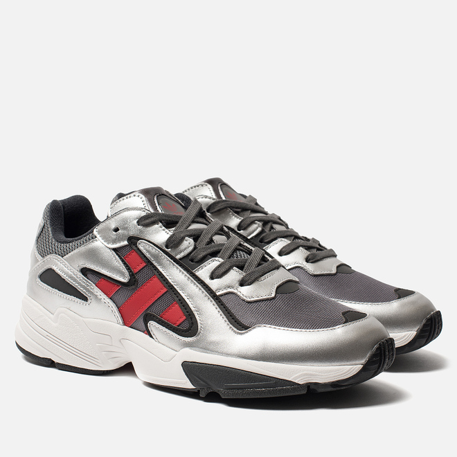 Кроссовки adidas Originals Yung-96 Chasm Grey Four/Scarlet/Silver Metallic