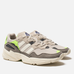 Кроссовки adidas Originals Yung-96 Clear Brown/Off White/Solar Green фото- 2