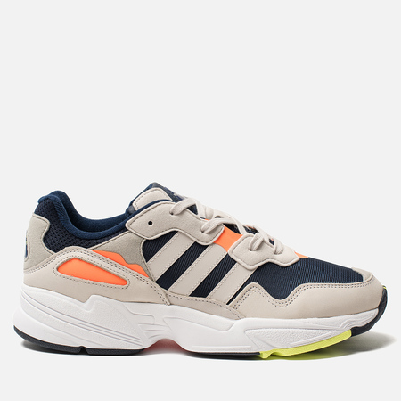 d3afb3484da9 Кроссовки adidas Originals Yung-96 Collegiate Navy Raw White  Solar Orange