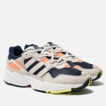 factory price 07ffe 3e0aa Кроссовки adidas Originals Yung-96 Collegiate Navy Raw White Solar Orange  фото-
