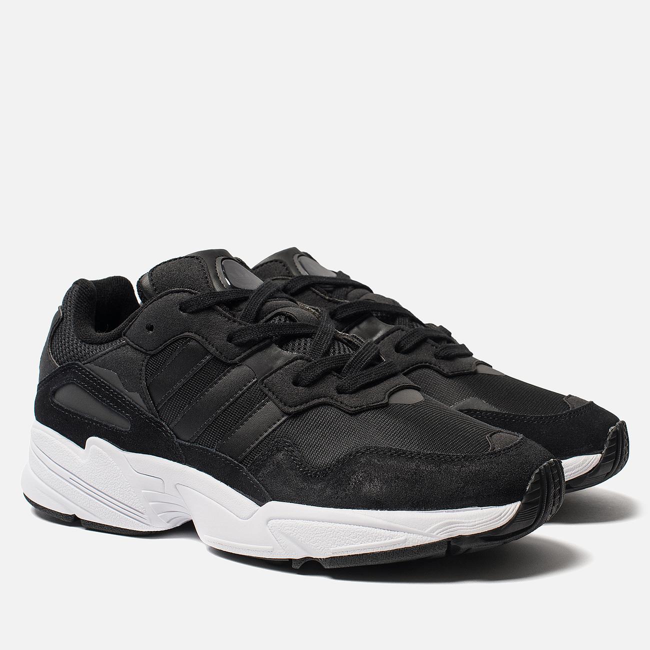 Кроссовки adidas Originals Yung-96 Core Black/Core Black/Crystal White