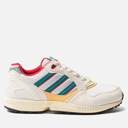 Кроссовки adidas Originals ZX 6000 Cream White/Scarlet/Shock Yellow