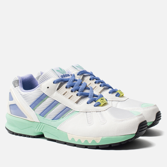 Кроссовки adidas Originals ZX 7000 White/Crystal White/Shock Yellow