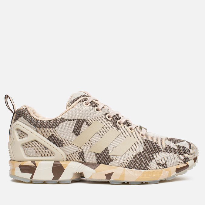 Кроссовки adidas Originals ZX Flux Clear Brown/Brown/Hemp