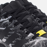 Кроссовки adidas Originals ZX Flux Weave Core Black/Core Black фото- 5