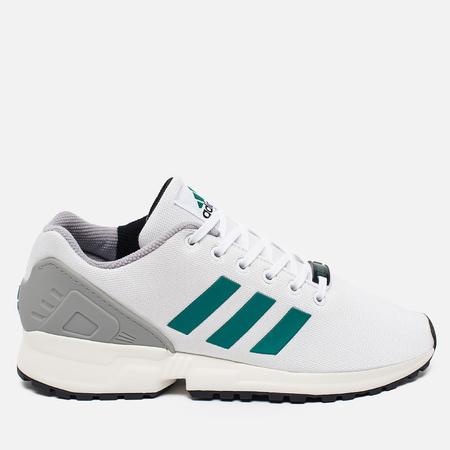 adidas Originals ZX Flux Sneakers White/SubGreen/ChalkWhite