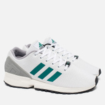 Кроссовки adidas Originals ZX Flux White/SubGreen/ChalkWhite фото- 1