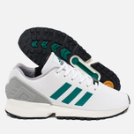 Кроссовки adidas Originals ZX Flux White/SubGreen/ChalkWhite фото- 2