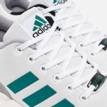 Кроссовки adidas Originals ZX Flux White/SubGreen/ChalkWhite фото- 3