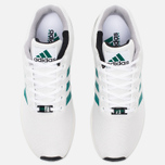 Кроссовки adidas Originals ZX Flux White/SubGreen/ChalkWhite фото- 4
