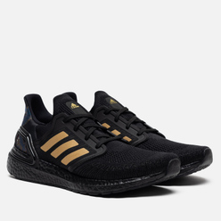 Мужские кроссовки adidas Performance Ultra Boost Chinese New Year 2020 Core Black/Gold Metallic/Signal Coral
