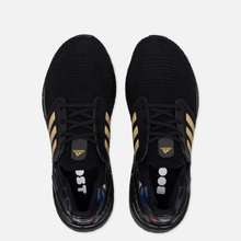 Кроссовки adidas Performance Ultra Boost Chinese New Year 2020 Core Black/Gold Metallic/Signal Coral фото- 1