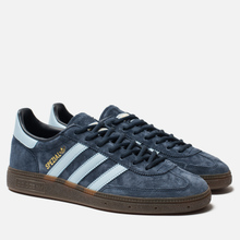 Кроссовки adidas Originals Handball Spezial Collegiate Navy/Clear Sky/Gum фото- 2