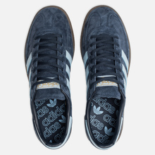 Кроссовки adidas Originals Handball Spezial Collegiate Navy/Clear Sky/Gum фото- 5