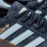 Кроссовки adidas Originals Handball Spezial Collegiate Navy/Clear Sky/Gum фото- 6