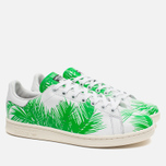 Кроссовки adidas Consortium x Pharrell Williams Stan Smith BBC Palm Tree Pack White/Green фото- 1