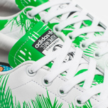 Кроссовки adidas Consortium x Pharrell Williams Stan Smith BBC Palm Tree Pack White/Green фото- 5