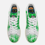 Кроссовки adidas Consortium x Pharrell Williams Stan Smith BBC Palm Tree Pack White/Green фото- 3