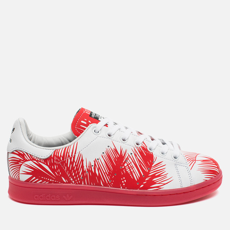 Кроссовки adidas Consortium x Pharrell Williams Stan Smith BBC Palm Tree Pack White/Red