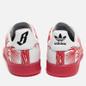 Кроссовки adidas Consortium x Pharrell Williams Stan Smith BBC Palm Tree Pack White/Red фото - 2
