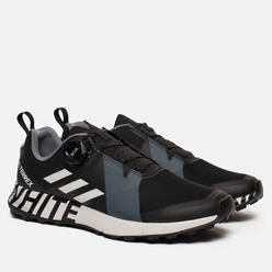Кроссовки adidas Performance x White Mountaineering Terrex Two Boa Core Black/White/Core Black