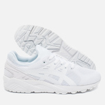 Кроссовки ASICS Gel-Kayano Evo Triple White фото- 2