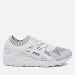 Кроссовки ASICS Gel-Kayano Trainer Knit Reflective Knit Pack Silver/White фото- 0