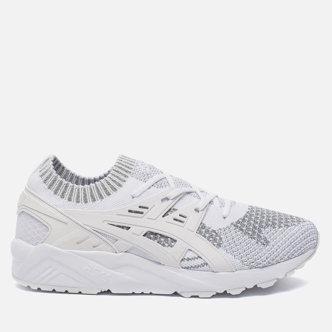Кроссовки ASICS Gel-Kayano Trainer Knit Reflective Knit Pack Silver/White