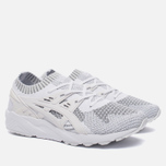Кроссовки ASICS Gel-Kayano Trainer Knit Reflective Knit Pack Silver/White фото- 2