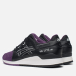 Кроссовки ASICS Gel-Lyte III Purple/Black фото- 2
