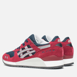 Кроссовки ASICS Gel-Lyte III Burgundy/Soft Grey фото- 2
