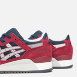 Кроссовки ASICS Gel-Lyte III Burgundy/Soft Grey фото- 5